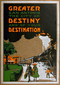 San Antonio Travel Book Cover
