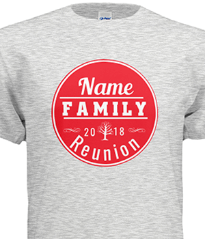 family reunion template gray