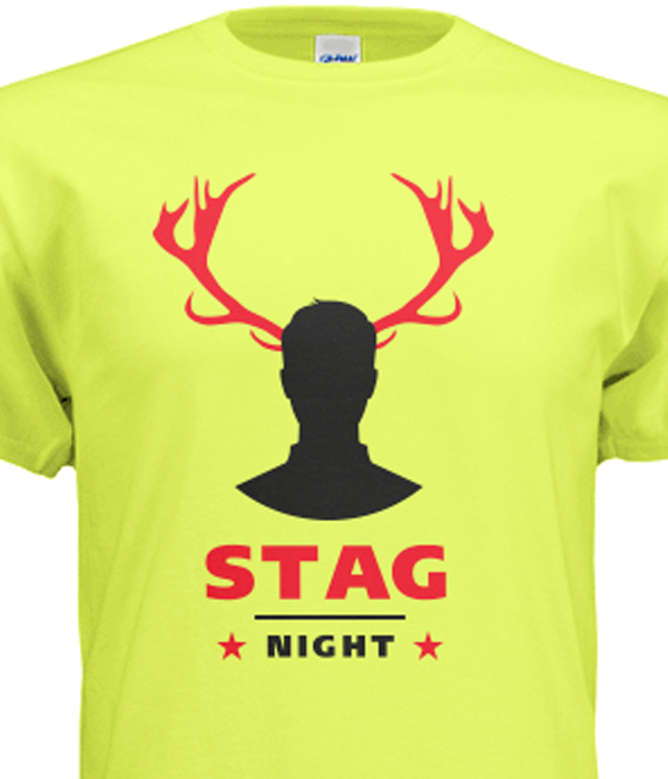 Stag Party t-shirt template