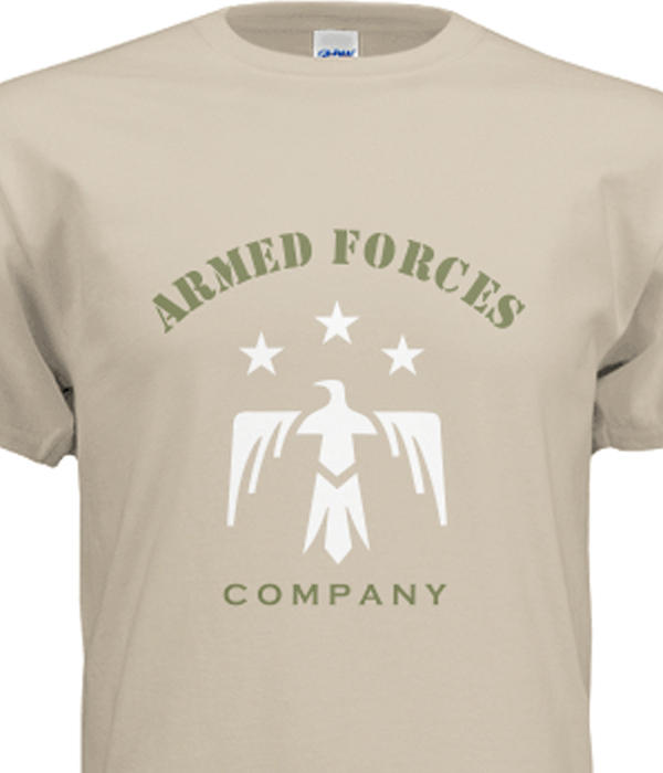 armed forces tshirt template