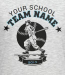 easy to use baseball team template design
