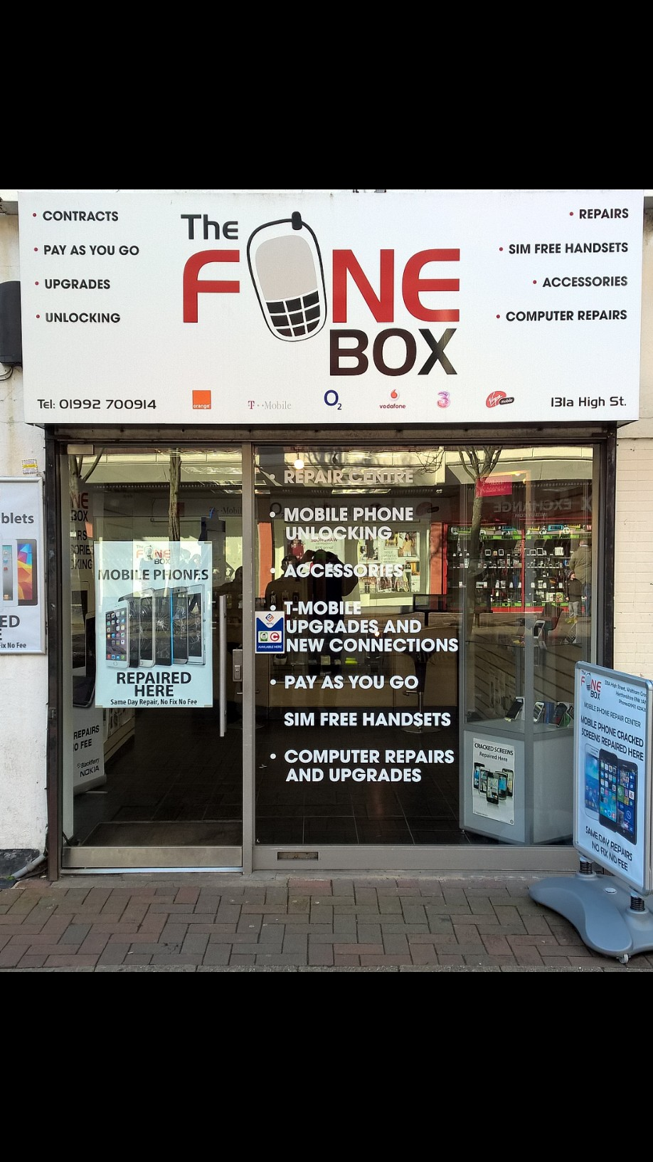 the fone box