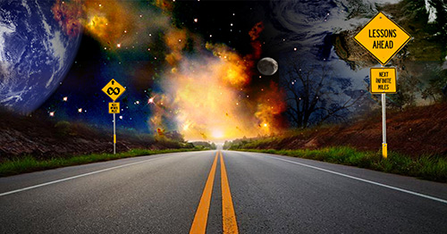 The Road is Long: the Journey Through Forever