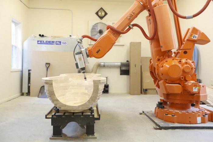 Robot Furniture Maker