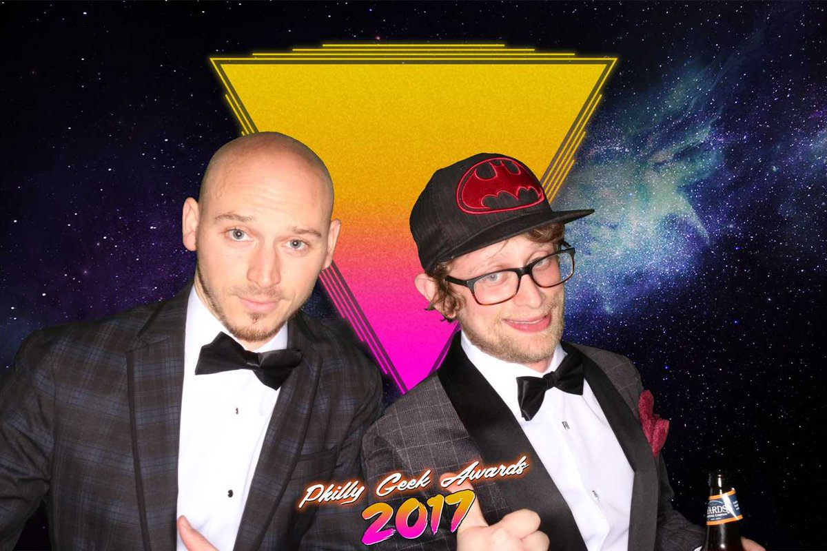 Recap: Presenting at Philly Geek Awards