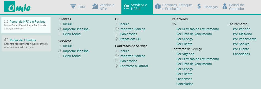 """Basta acessar o módulo """"Serviços e NFS-e, Estoque e Produção >>Painel de NFS-e e Recibos"""""""