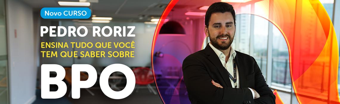 Novo CURSO   Pedro Roriz ensina tudo que você tem que saber sobre BPO