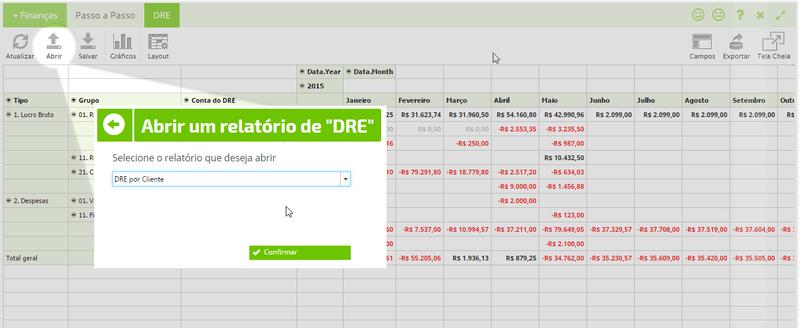 relatorios personalizados sistema erp online