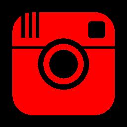 logo instagram rojo