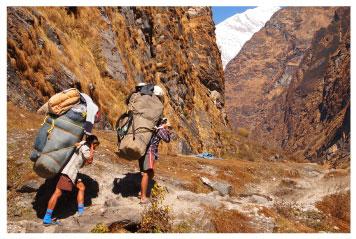 Sherpas from Nepal
