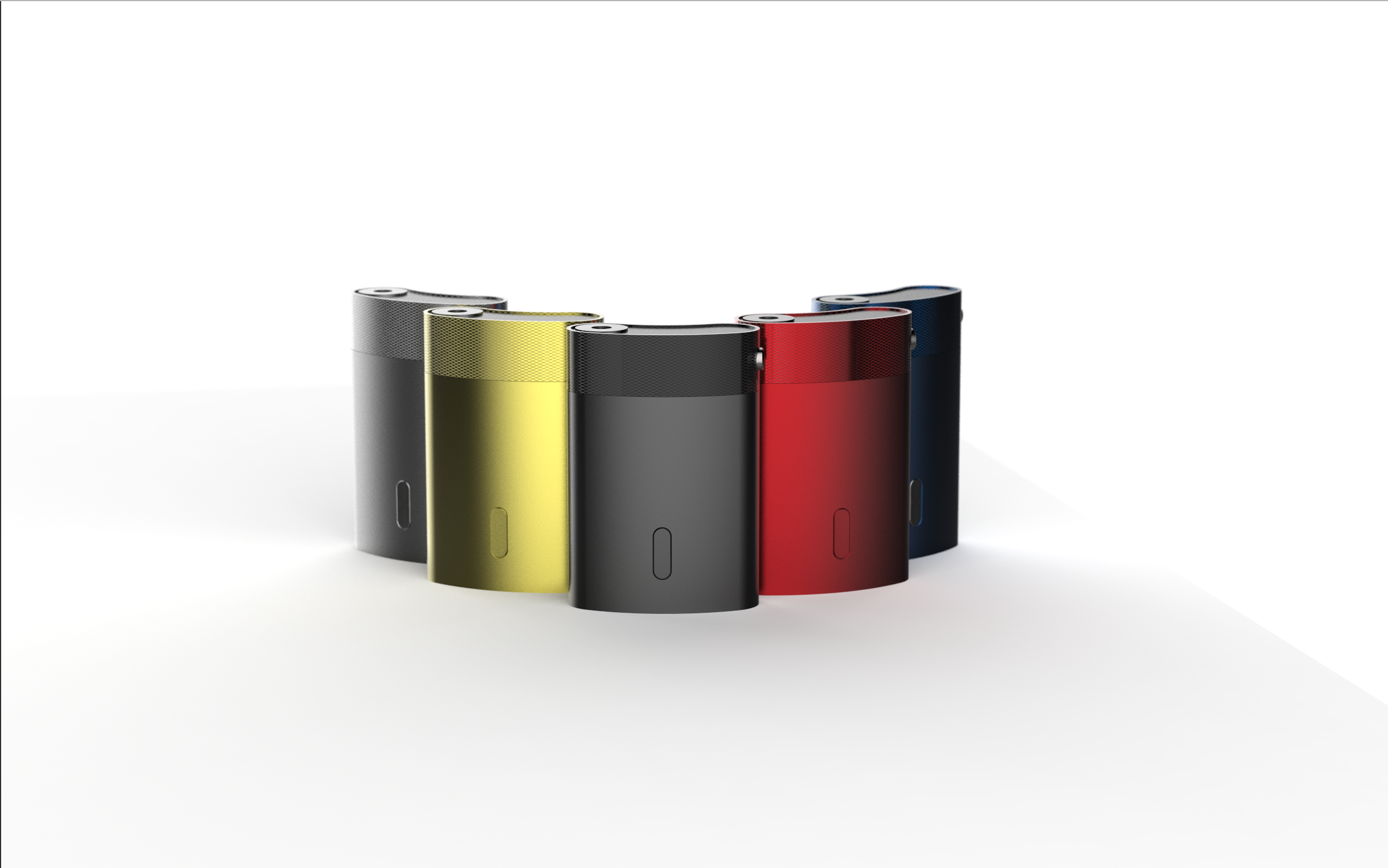 Product family of vaporizers with custom colors
