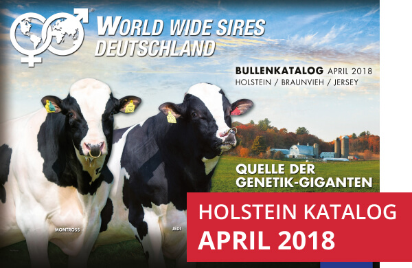 World Wide Sires Deutschland Holstein Katalog anzeigen