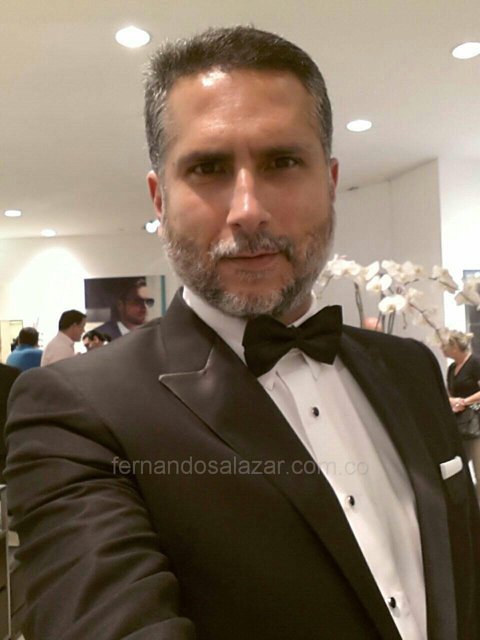 Marlon Moreno en Smoking de Fernando Salazar - Tuxedo - Novio