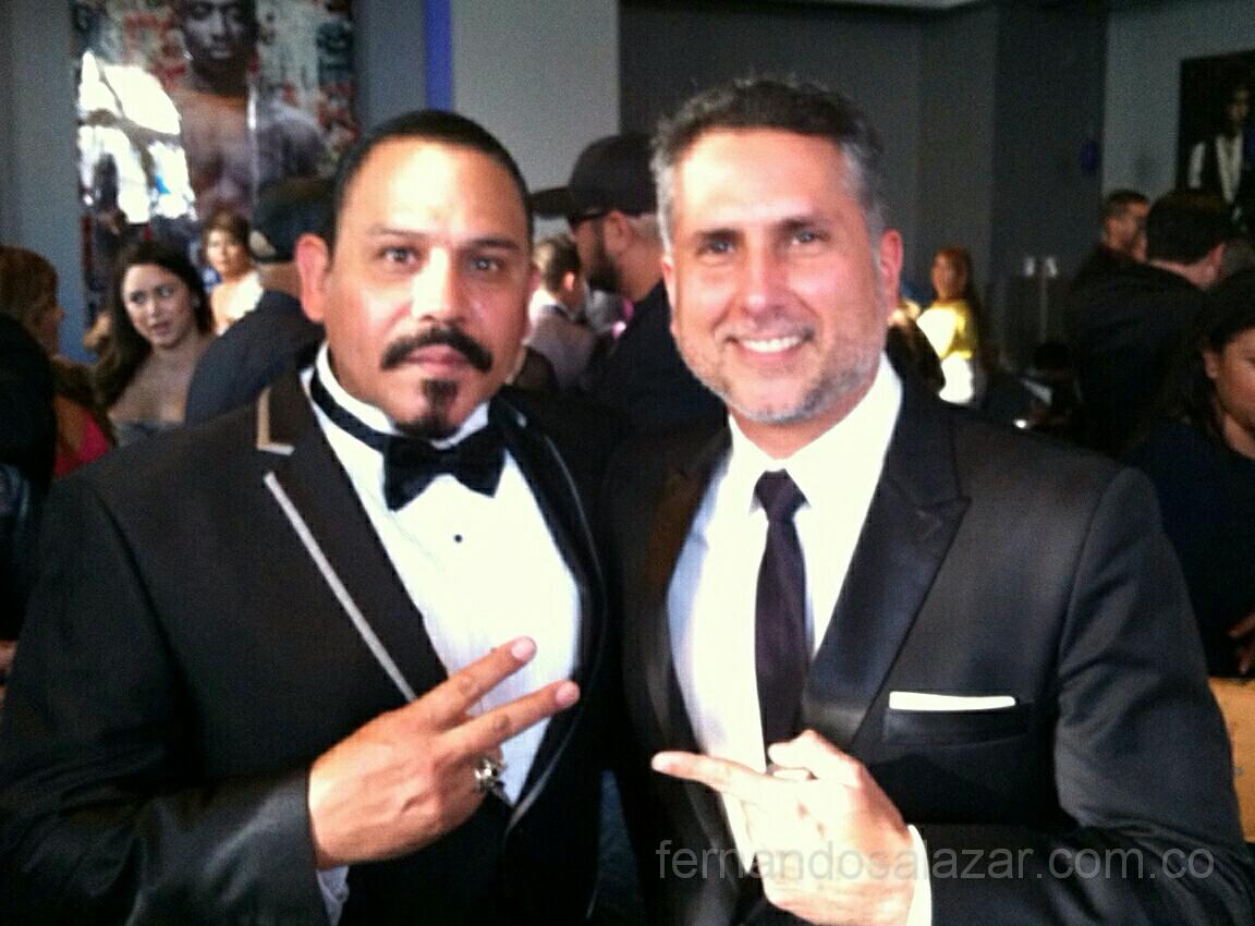 Marlon Moreno en Tuxedo (Esmoquin) de Fernando Salazar