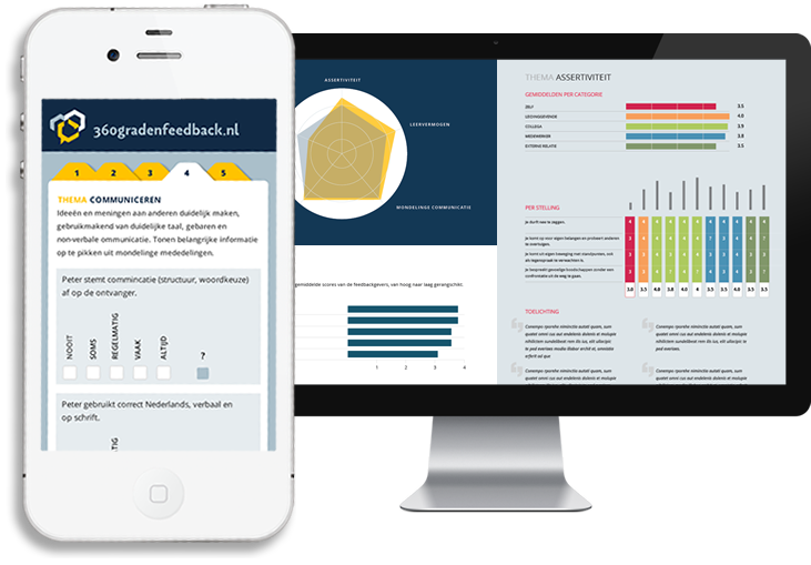 Gebruiksvriendelijk 360 graden feedback systeem