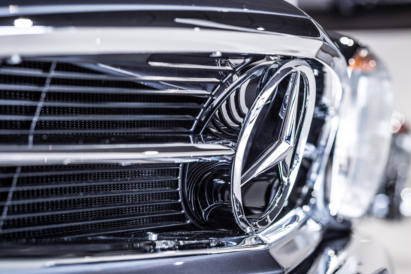Front grill Mercedes-Benz W113 280SL Pagoda by Hemmels