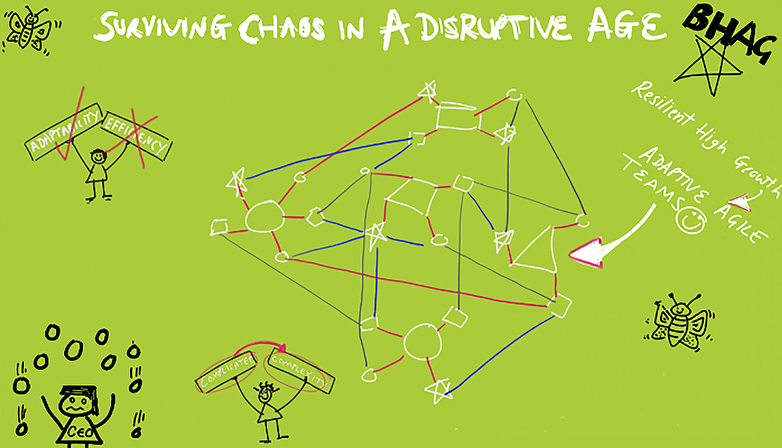 Five Things CEOs must do for Surviving Chaos in a Disruptive Age