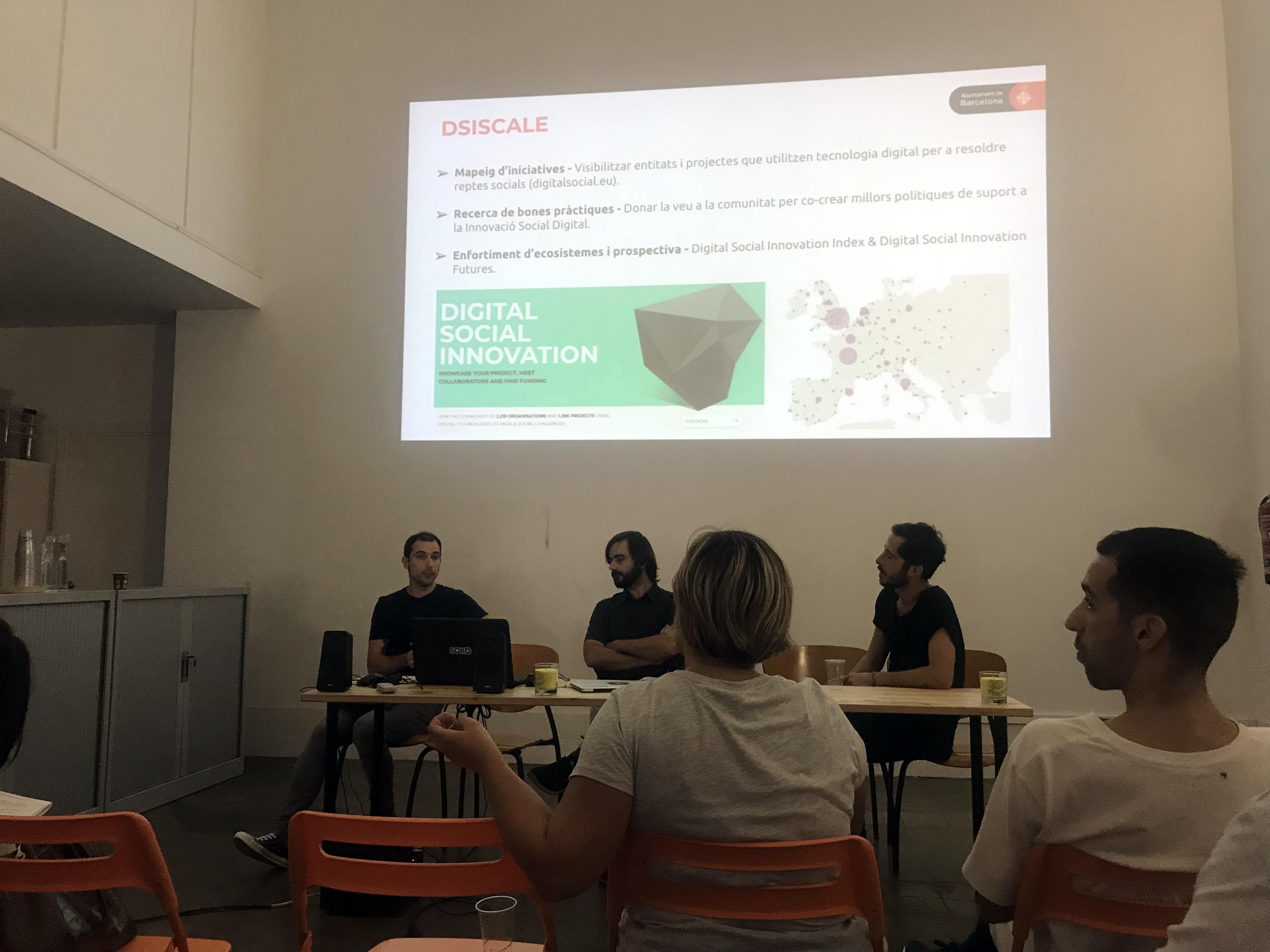 """Marc Aguilar, de Barcelona Activa, explica el projecte Dsiscale a """"Matí Makers"""""""