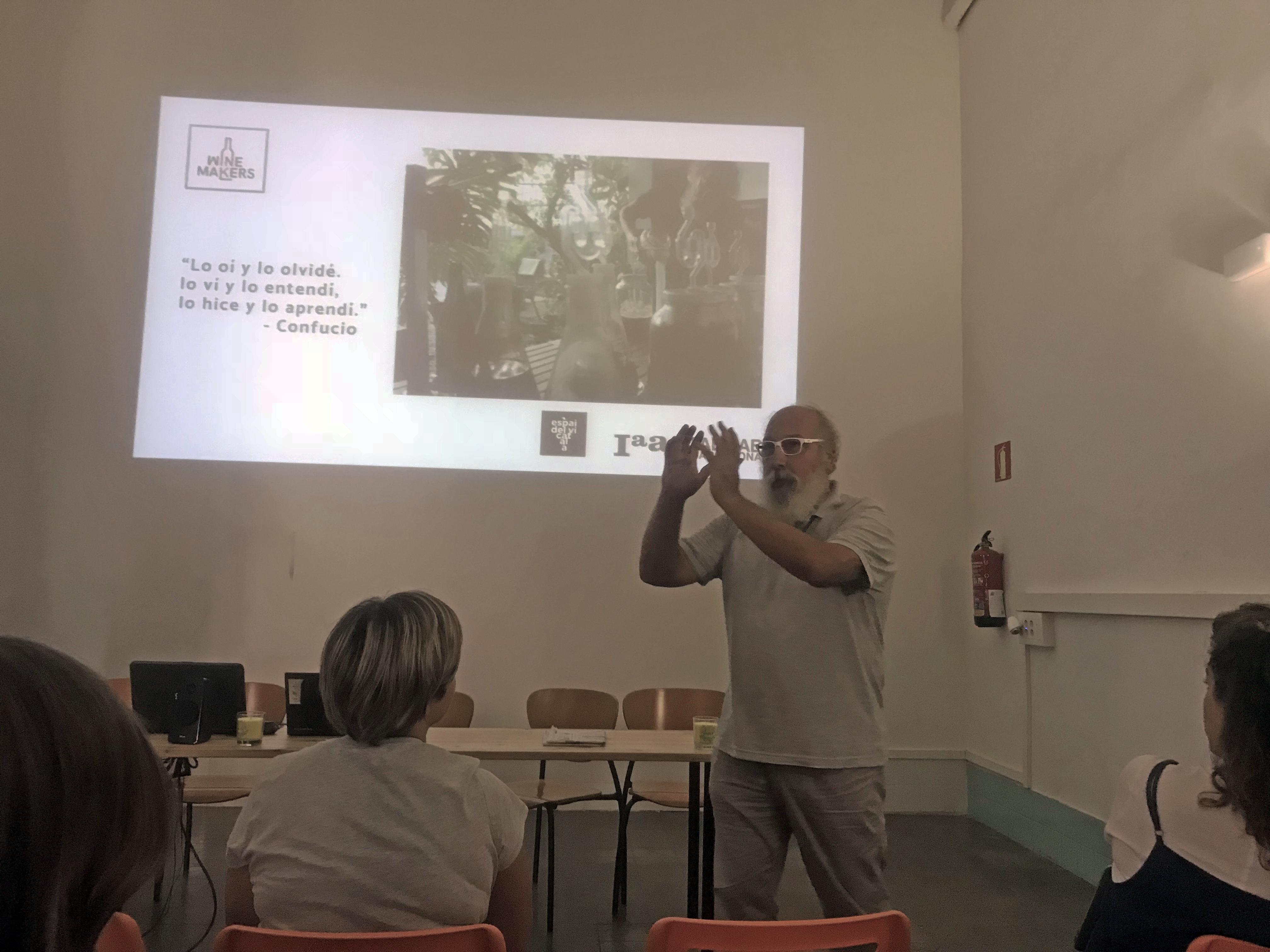 Miguel Fijini va presentar el Winemakers a Matí Maker
