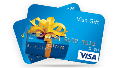 Visa Gift Card Referral Incentive