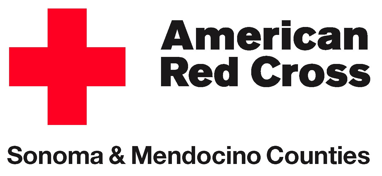 American Red Cross Sonoma And Mendocino Counties Logo
