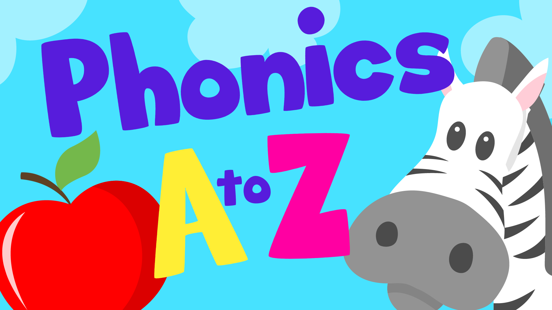 PHONICS A to Z for kids - Alphabet Letter Sounds | Lotty Learns