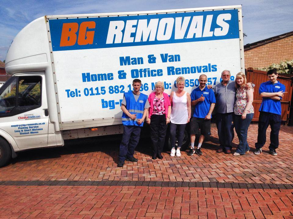 Fully Insured Removals in Nottingham, Derby and Leicester