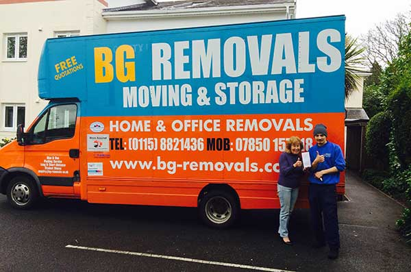Removals Company Leicester