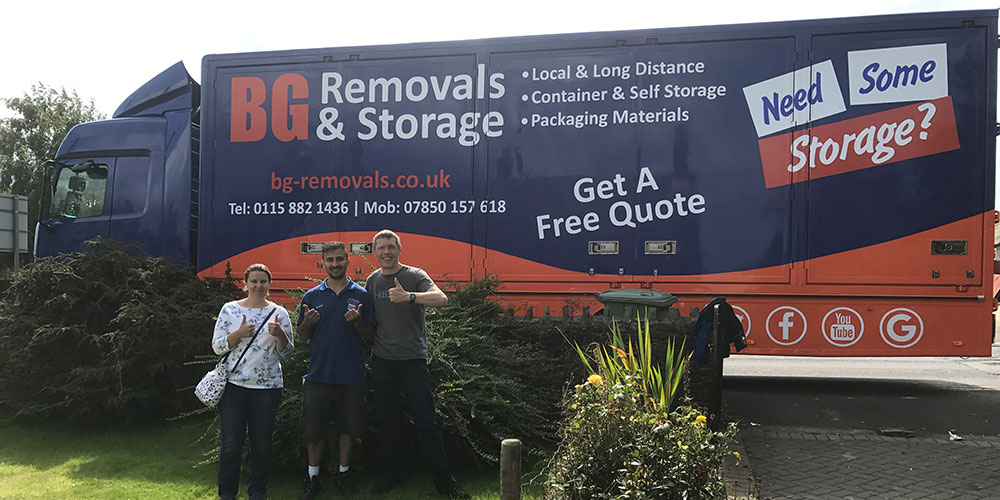 Removals Company Nottingham