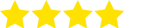 4 of 5 rating stars icon