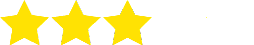 3 of 5 rating stars icon