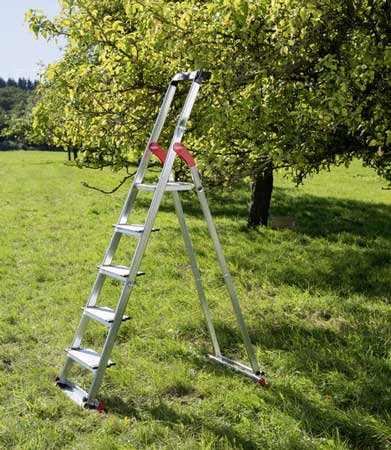 Hailo XXL Home & Garden - The first Hailo household ladder for outdoors and indoors.