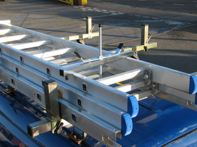 Ladder Clamps / Fits any roof rack / Quick and easy to fit / Corrosion resistant