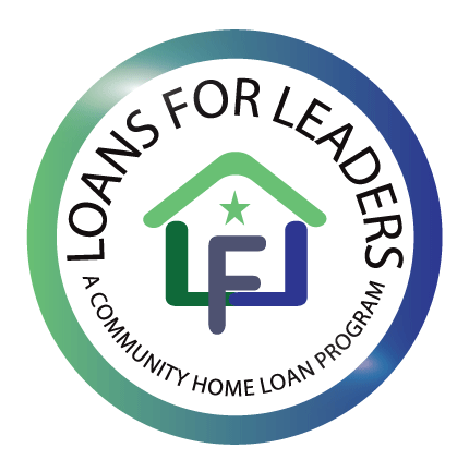 Loans for Leaders Badge Logo - We are a Community Home Loan Program in Texas