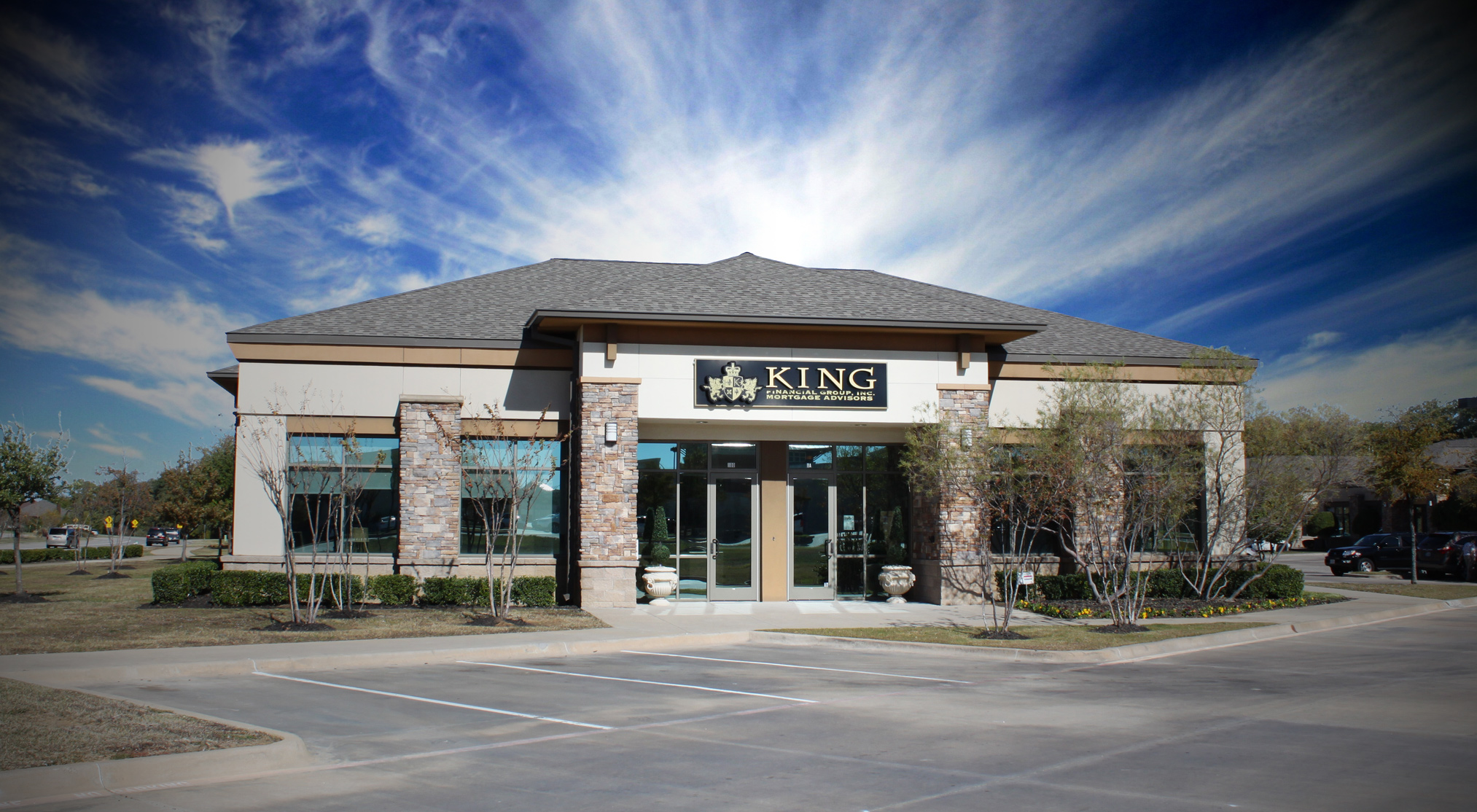 Photo of King Financial Group's Office in Highland Village.