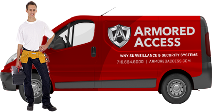Armored access van