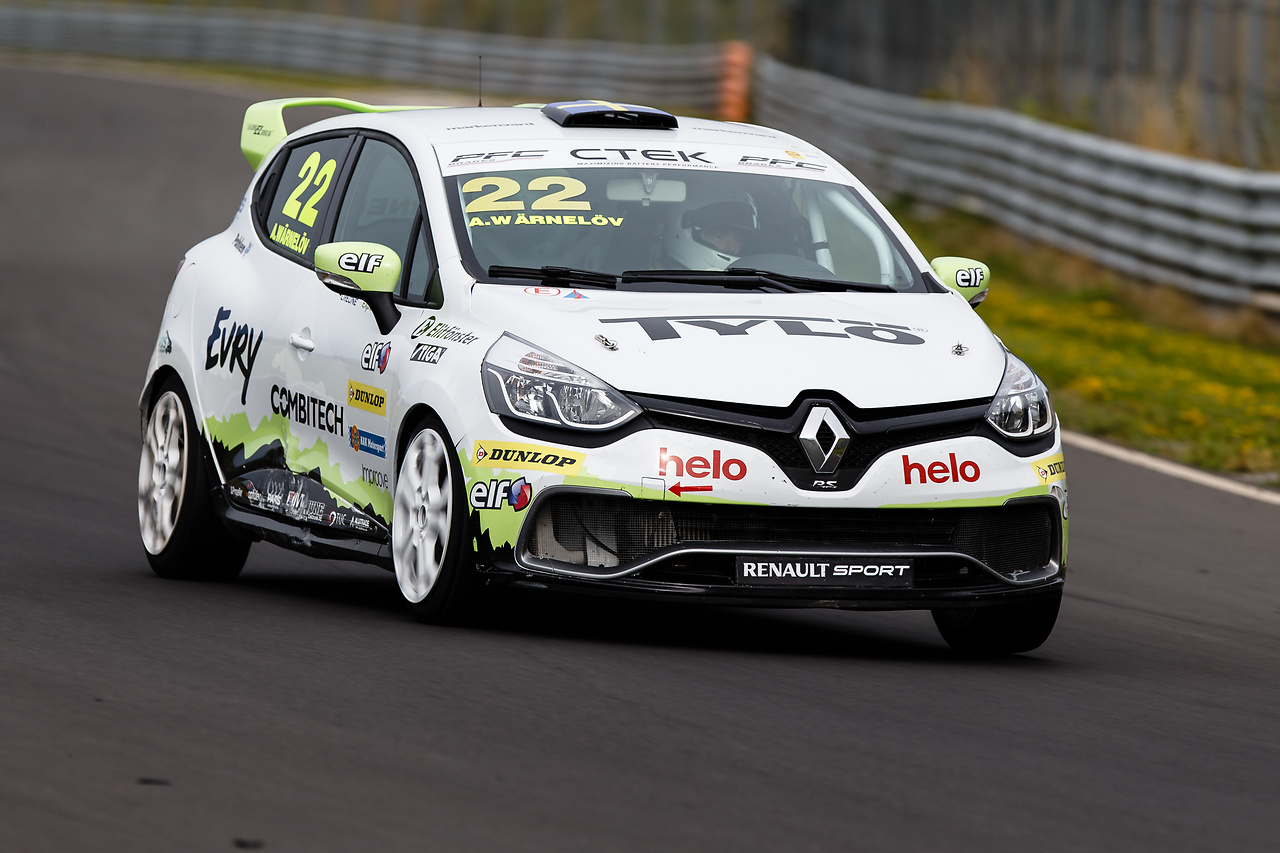 Clio Cup racing bil