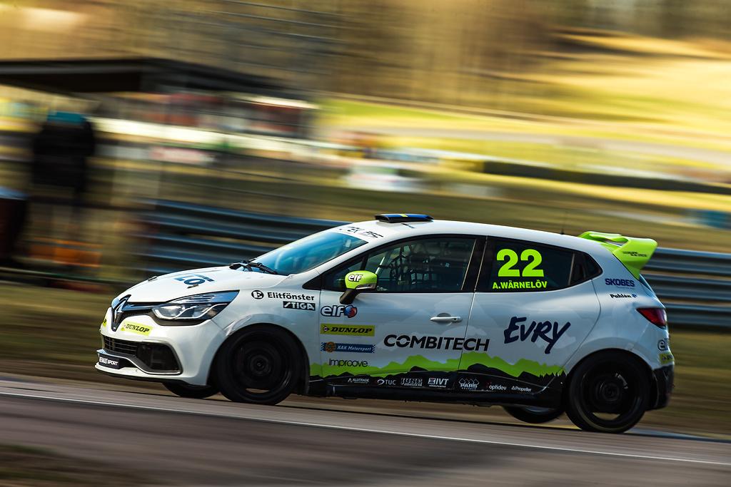 Racing teamet Expertens Clio Cup bil