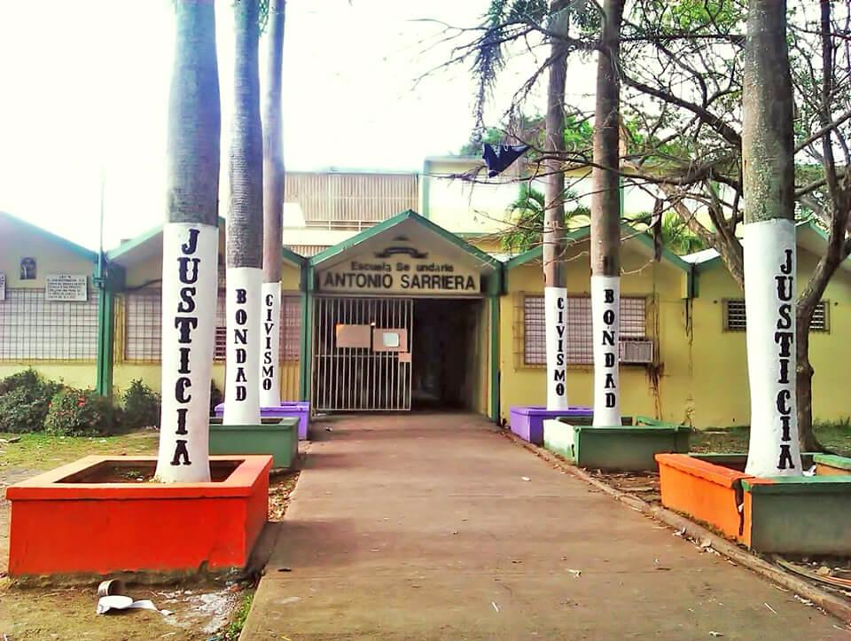 Escuela Antonio Sarriera Egozcué, Carolina, PR.