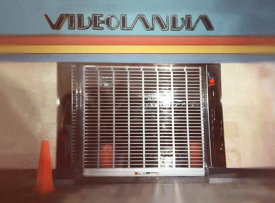 """Foto vieja de Videolandia ((arcade"""")Plaza Carolina en el 1991, Carolina, Puerto Rico."""