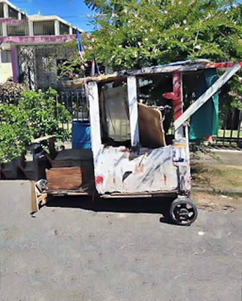 Carrito de Wito, en la Urbanización Jardines de Country Club, Carolina, Puerto Rico.