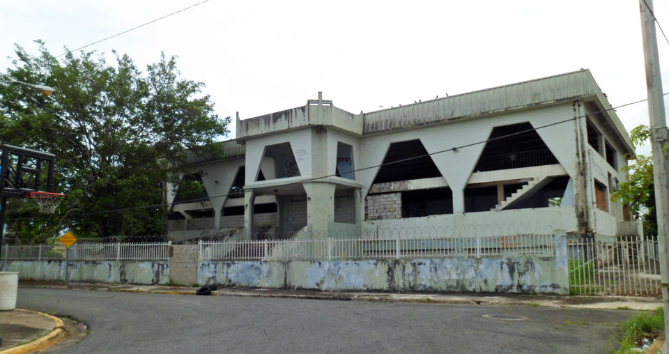 Antigua Iglesia Mission Board, Country Club, Carolina, Puerto Rico.