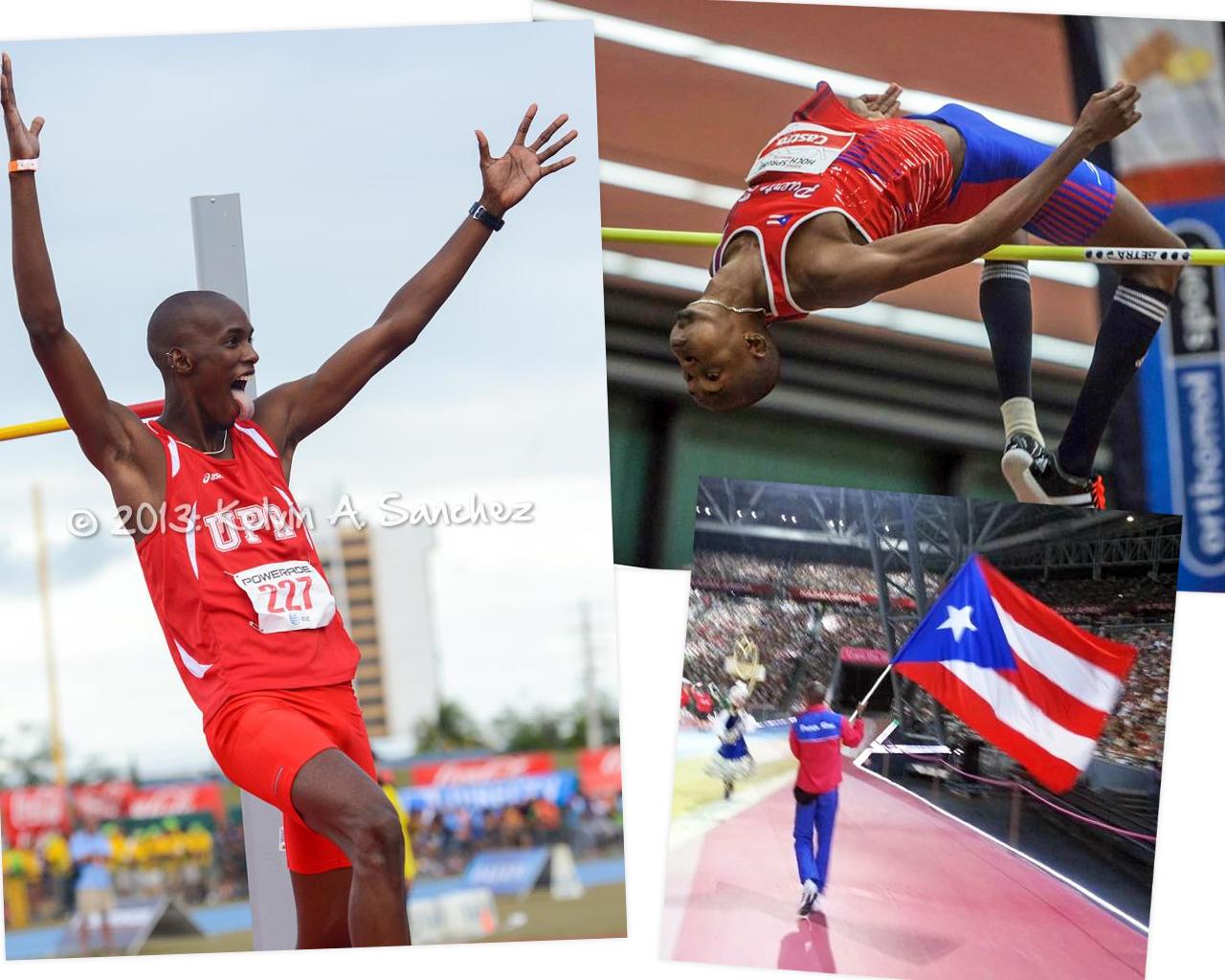 Luis Joel Castro, uno de los Atletas de Carolina, Puerto Rico en las Olimpiadas de Rio 2016.