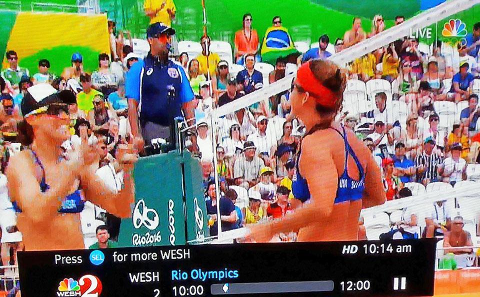 Lenny Rivera de Carolina, Puerto Rico en las Olimpiadas de Rio 2016.