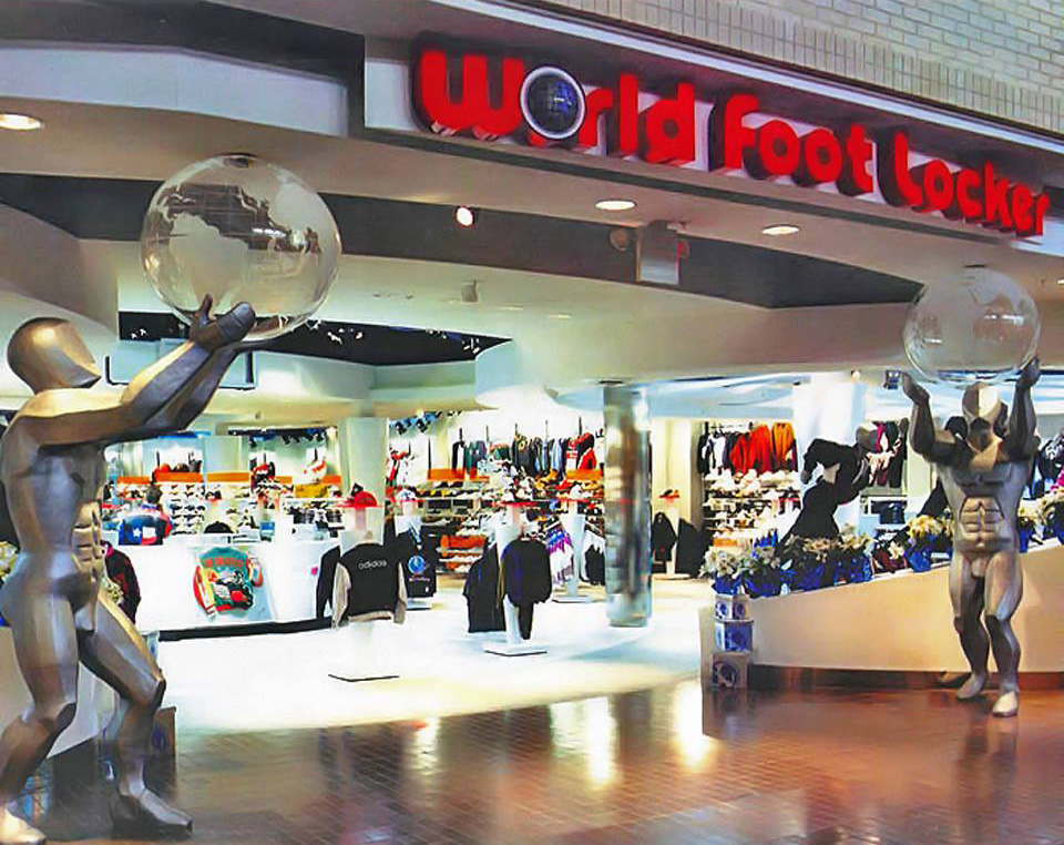 World Foot Locker, Plaza Carolina, Carolina, Puerto Rico.