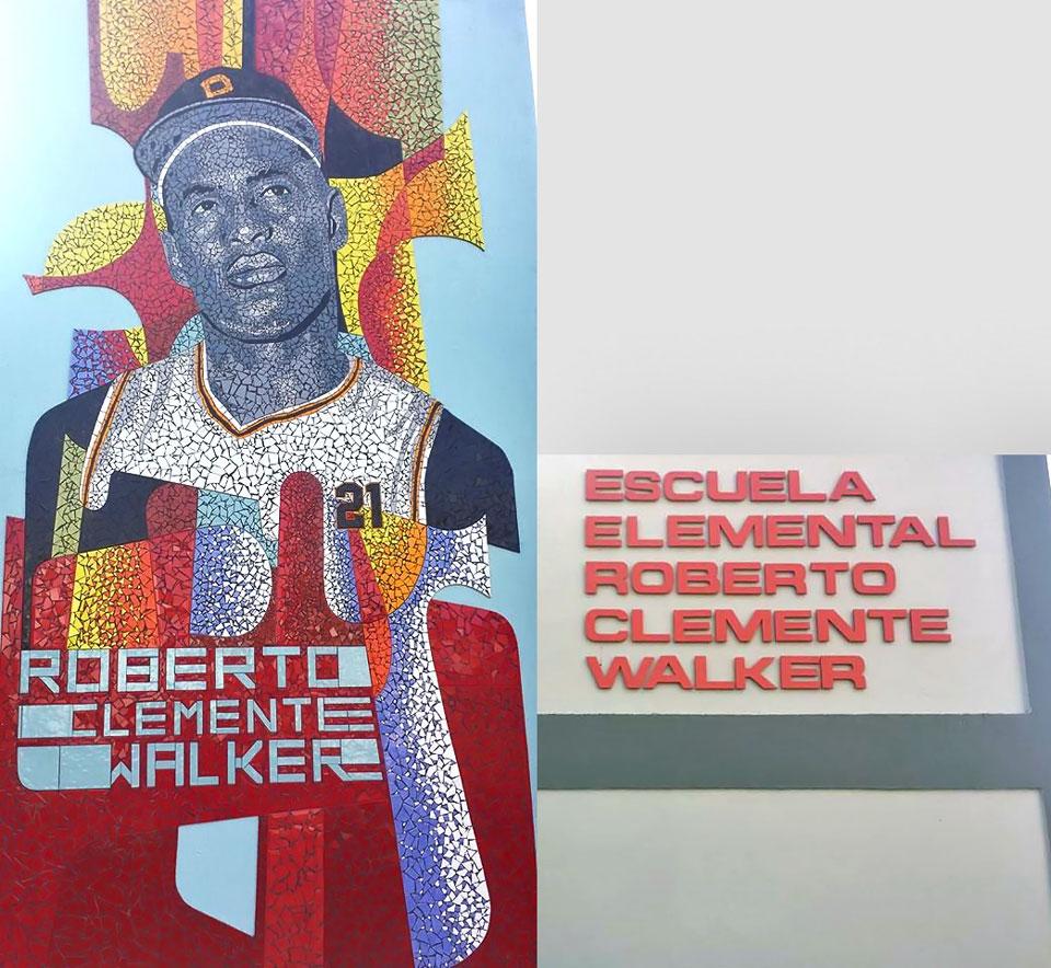 Escuela Elemental Roberto Clemente Walker, en Carolina, Puerto Rico.