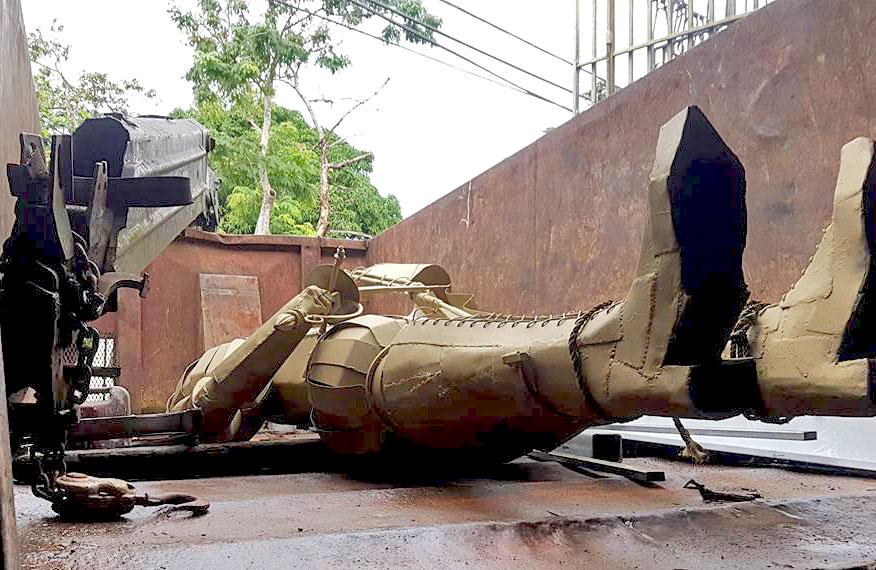Estatua de Saint Just, Carolina, Puerto Rico.