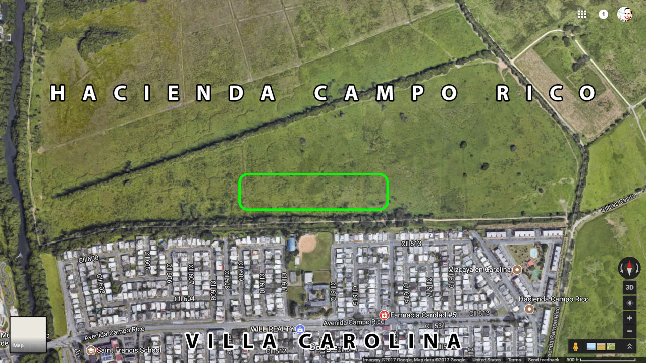 Hacienda Campo Rico. Factoría Azucarera Central Buenavista, Carolina, Puerto Rico.