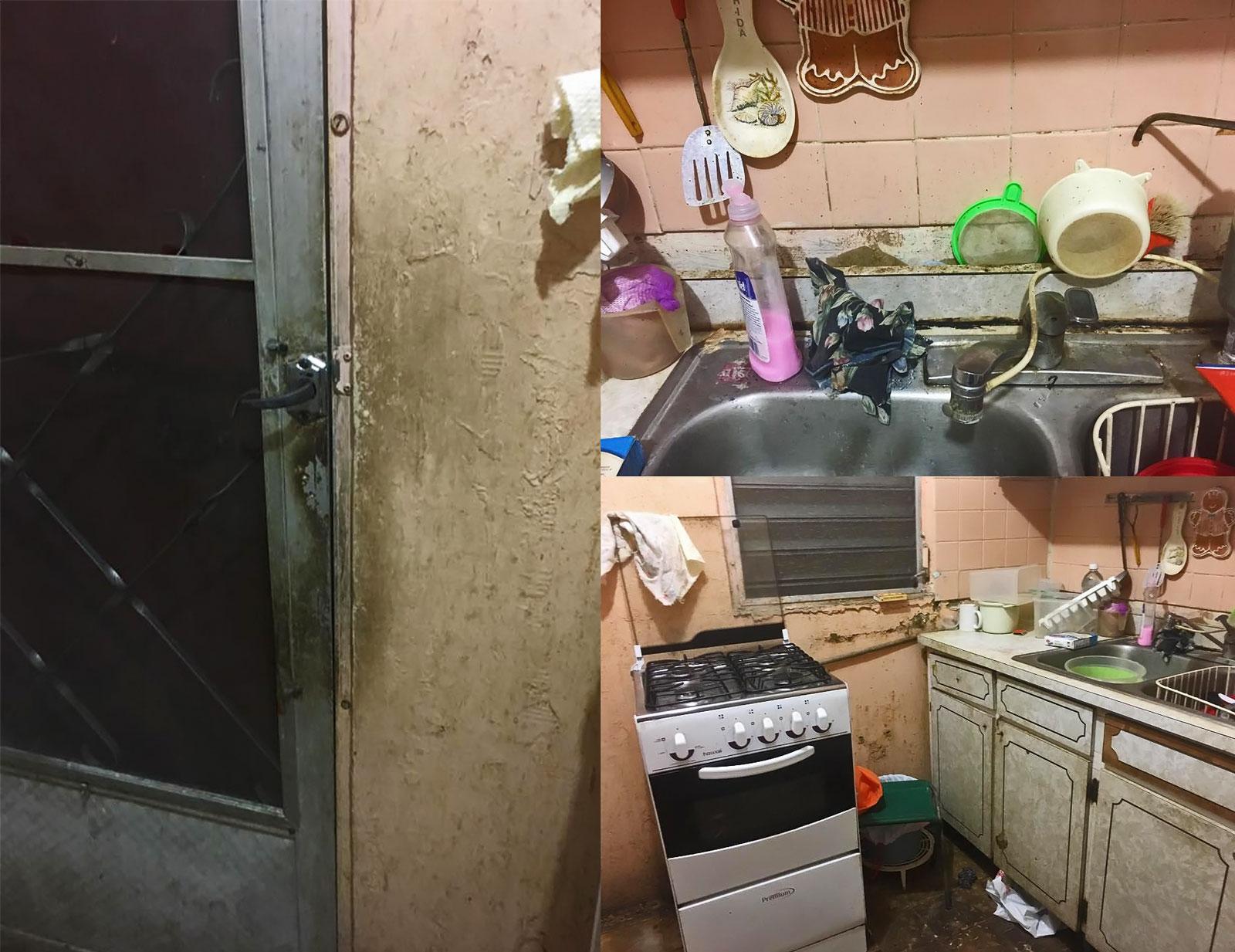 Casa de vecina mayor de edad abandonada en La Cerámica, Carolina, Puerto Rico.