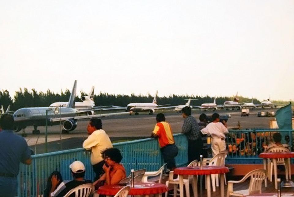 Aeroparque en el Aeropuerto Internacional Luis Muñoz Marín en Carolina, Puerto Rico.